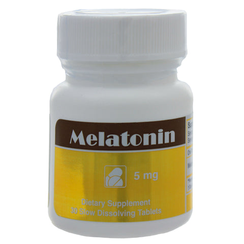 Melatonin 5 mg 30 tabs by Intensive Nutrition