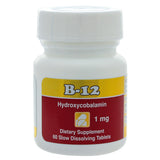 B-12 Sublingual 1 mg 60 tabs by Intensive Nutrition