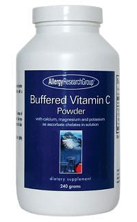 Buffered Vitamin C 240g Pwd by Allergy Research Group