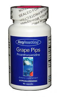 Grape Pips, 90ct Caps by Allergy Research Group