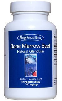 Bone Marrow Beef Gland., 100ct Caps by Allergy Research Group