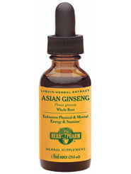 Asian Ginseng 1 oz by Herb Pharm
