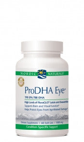 ProDHA Eye 1000mg 60ct Soft Gels by Nordic Naturals