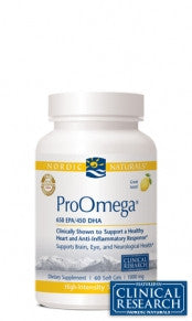 ProOmega/Lemon 180ct Soft Gels by Nordic Naturals