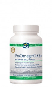 ProOmega-CoQ10 1000mg 120ct Soft Gels by Nordic Naturals