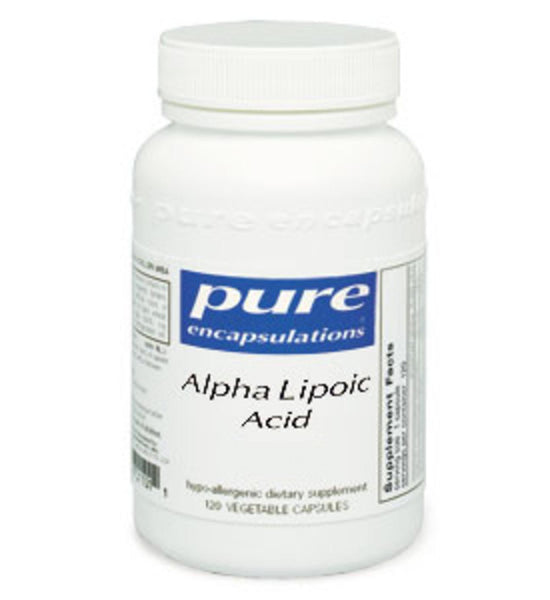 Alpha Lipoic Acid 400mg 120ct by Pure Encapsulations