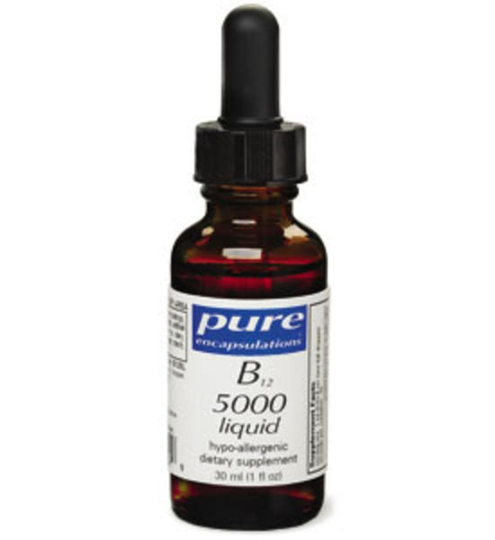 B12 Liquid 5000mcg 30ml/1oz by Pure Encapsulations