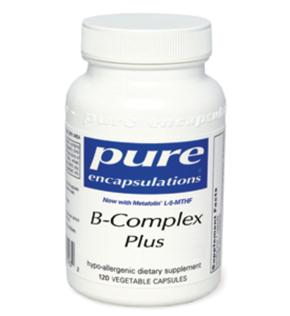 B-Complex Plus 60ct by Pure Encapsulations