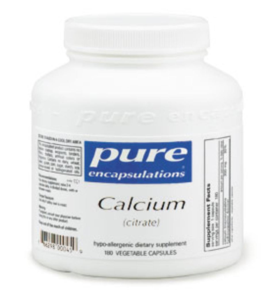 Calcium (citrate) 180ct by Pure Encapsulations
