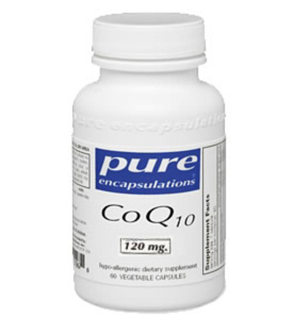 CoQ10 120mg 120ct by Pure Encapsulations