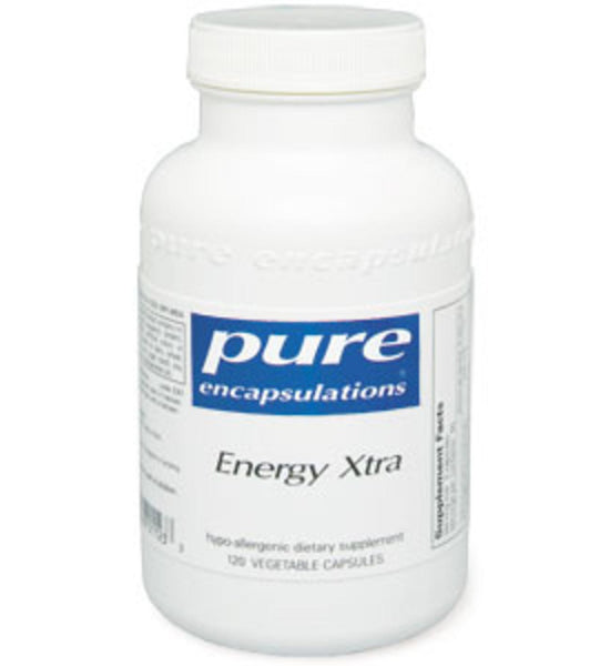 Energy Xtra 120ct by Pure Encapsulations