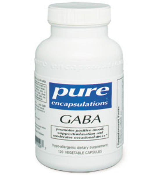GABA (700mg) 120ct by Pure Encapsulations