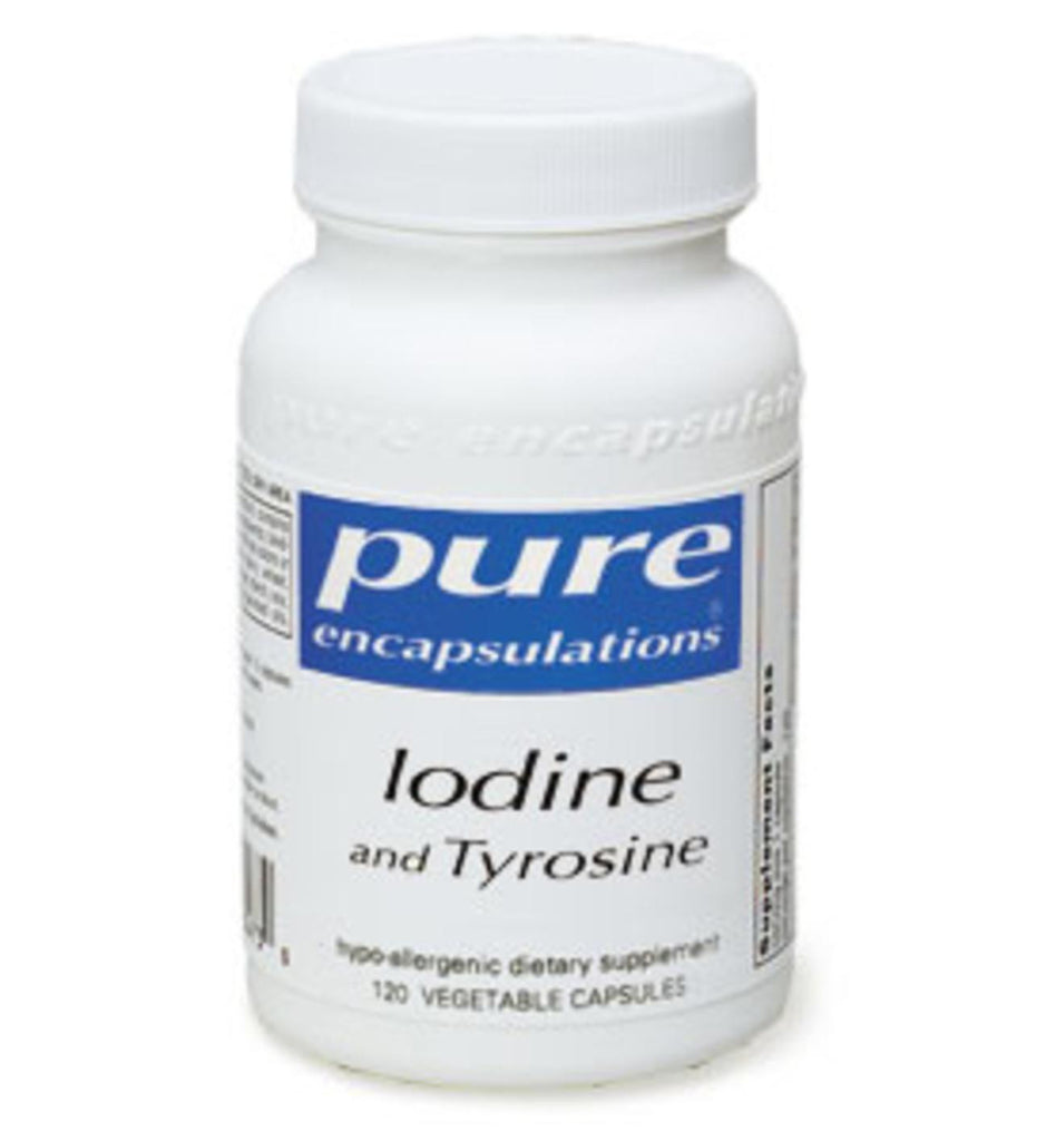 Iodine and Tyrosine 120ct by Pure Encapsulations