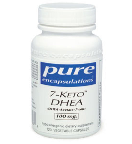 7-Keto DHEA 100mg 60ct by Pure Encapsulations