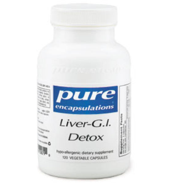 Liver-G.I. Detox 120ct by Pure Encapsulations