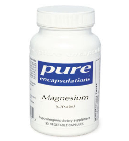 Magnesium (citrate) 90ct by Pure Encapsulations