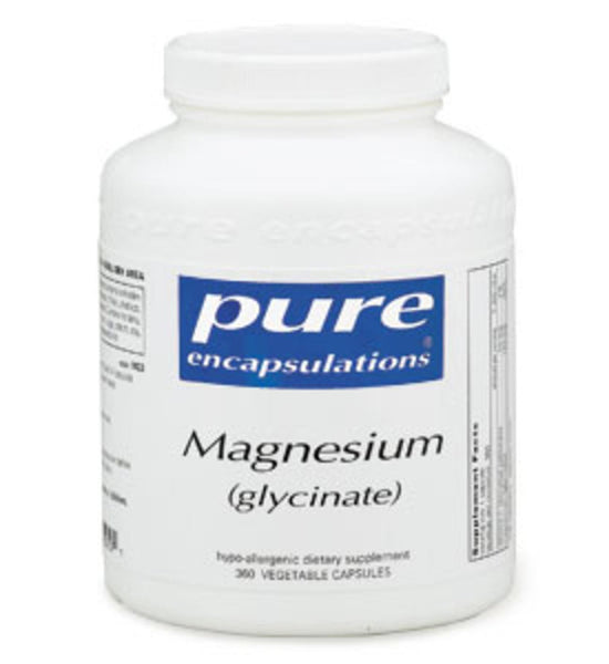 Magnesium (glycinate) 360ct by Pure Encapsulations