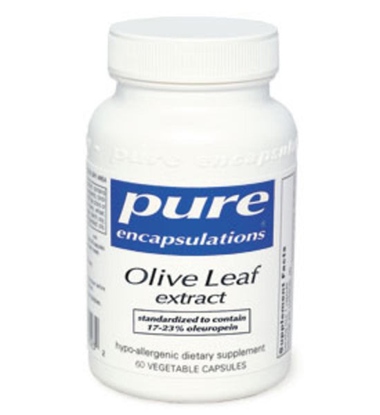 Olive Leaf extract 120ct by Pure Encapsulations