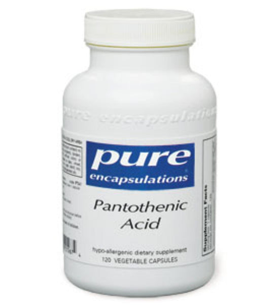 Pantothenic Acid 120ct by Pure Encapsulations