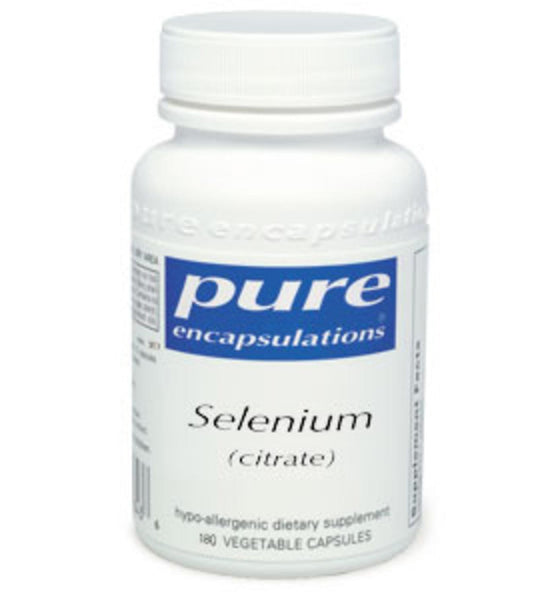 Selenium (citrate) [200mcg] 180ct by Pure Encapsulations