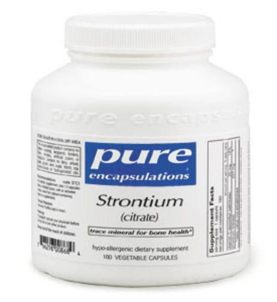 Strontium (citrate) 90ct by Pure Encapsulations