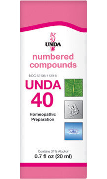 Unda #40 20 Ml by Seroyal - Unda