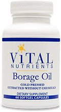 Borage Oil 1000mg 180ct by Vital Nutrients