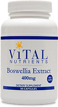 Boswellia Extract 400mg VEG 90ct by Vital Nutrients