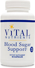 Blood Sugar Support VEG 120ct by Vital Nutrients