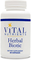 Herbal Biotic 60ct by Vital Nutrients
