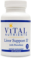 Liver Support II VEG 60ct by Vital Nutrients