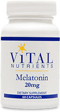 Melatonin 20mg 60ct by Vital Nutrients