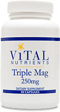 Triple Magnesium 250mg 90ct by Vital Nutrients