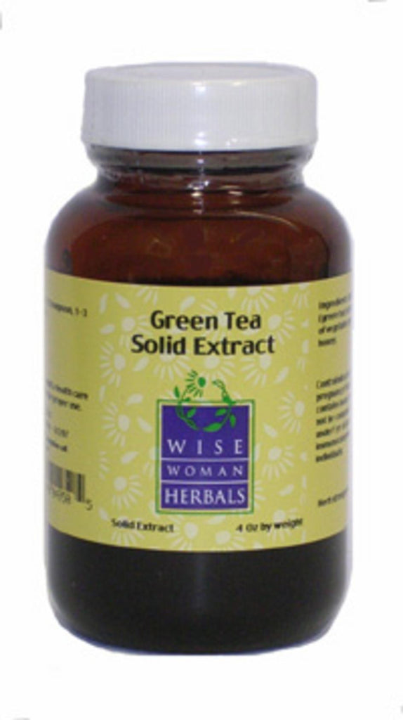 Green Tea Solid Extract 2oz by Wise Woman Herbals