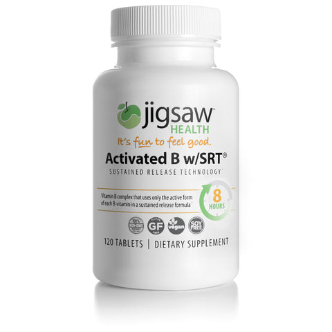 Activated B w/SRT 120 tabs by Jigsaw Health