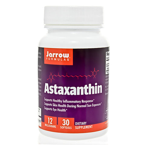 Astaxanthin 12 mg 30 softgels by Jarrow Formulas