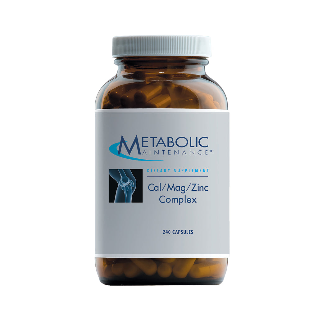 Cal/Mag/Zinc Complex large 240ct by Metabolic Maintenance
