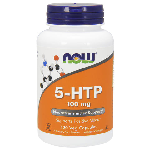 5-HTP 100 mg 120 vcaps by NOW Foods