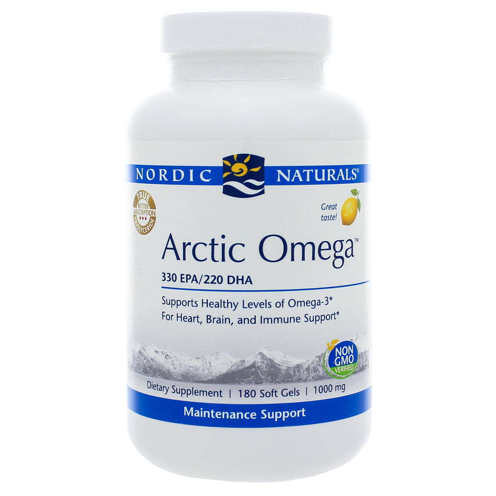 Arctic Omega/Lemon 180ct Soft Gels by Nordic Naturals