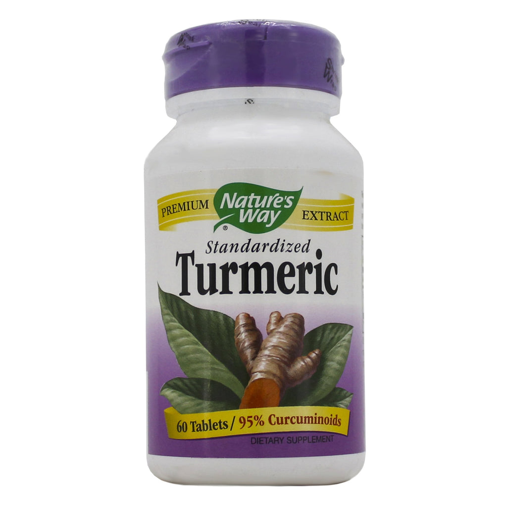 Turmeric Standardized 450 mg 60 tabs by Nature's Way