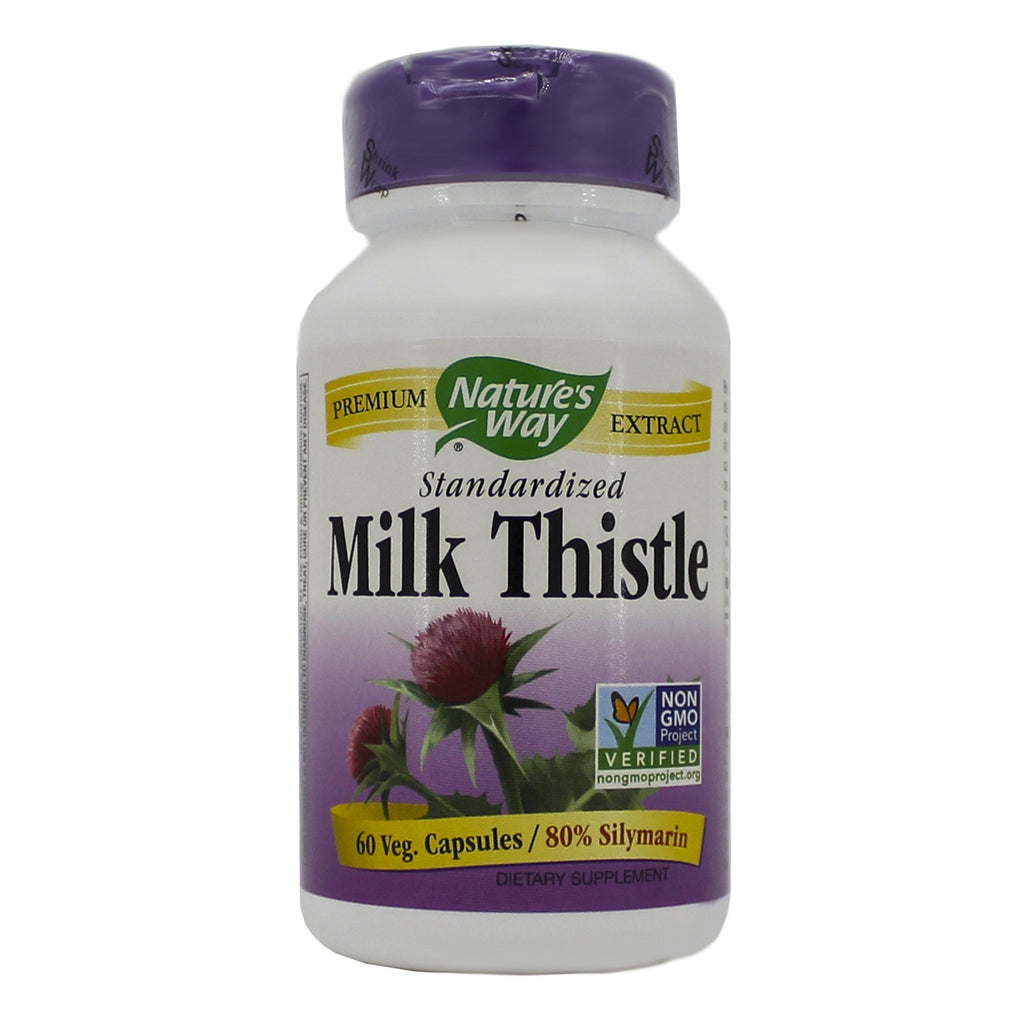 Milk Thistle 60 caps by Nature's Way