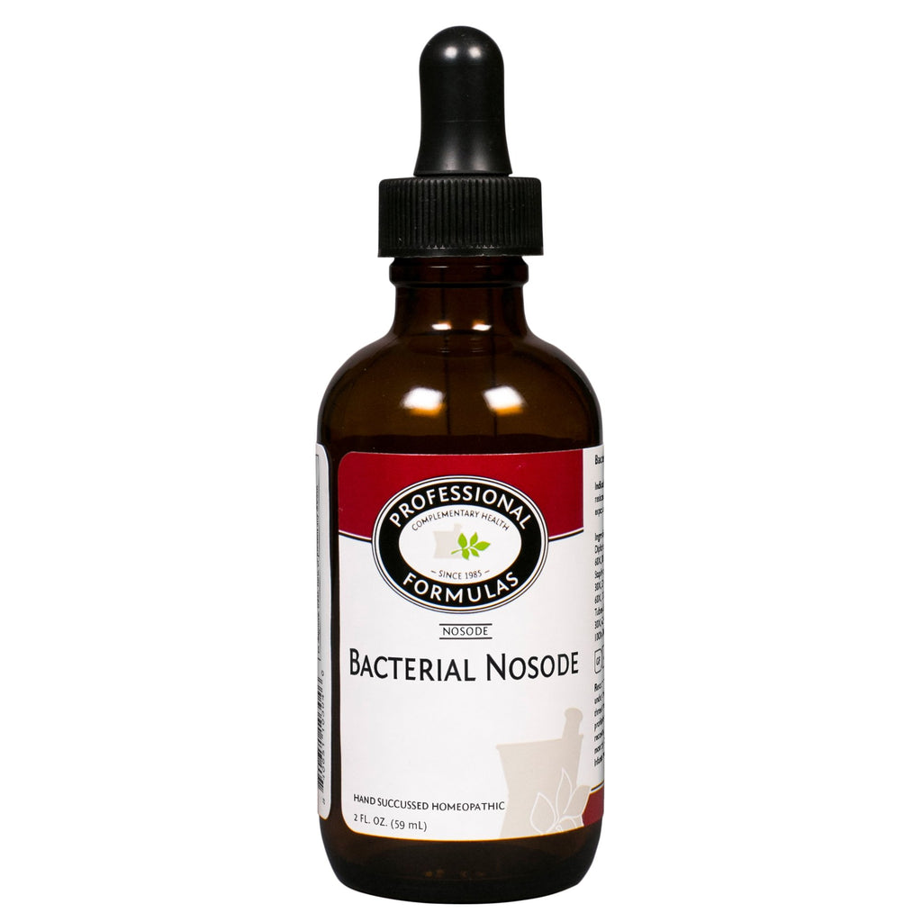 Bacterial Nosode Drops 2oz by Professional Formulas