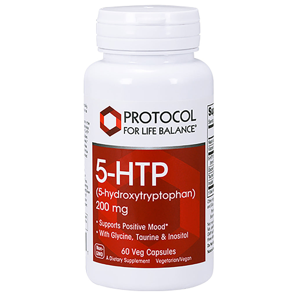 5-HTP 200 mg 60 vcaps by Protocol For Life Balance