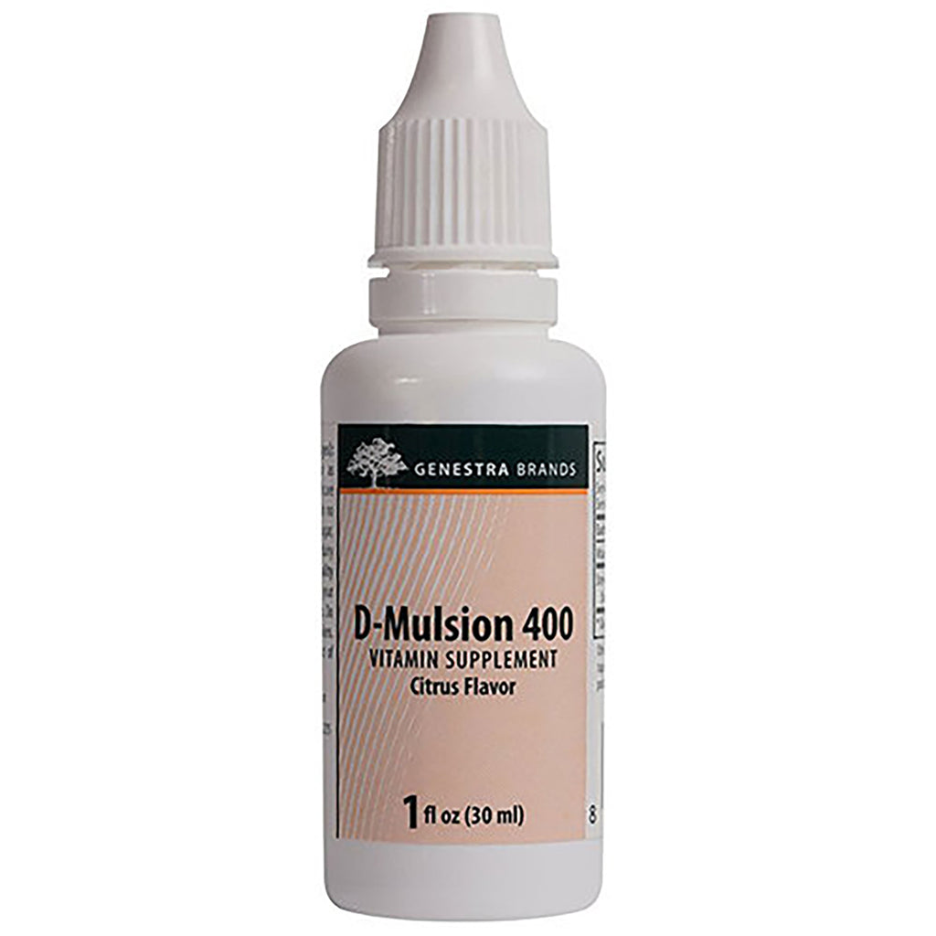 D-Mulsion 400 30 ml by Seroyal - Genestra
