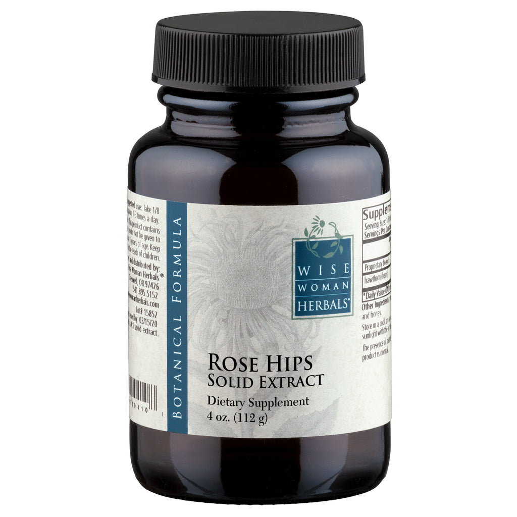 Rose Hips Solid Extract 4oz by Wise Woman Herbals