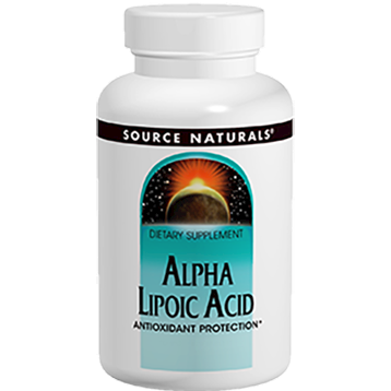 Alpha-Lipoic Acid 300mg Timed Rel. 60tab by Source Naturals