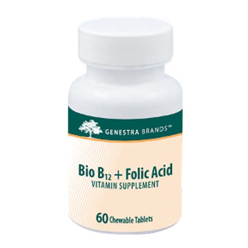 Bio B12 + Folic Acid 60 tabs by Seroyal - Genestra
