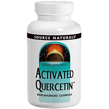 Activated Quercetin 50 tabs by Source Naturals