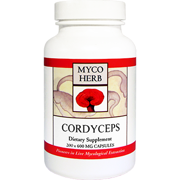 Cordyceps 100 caps by MycoHerb by Kan