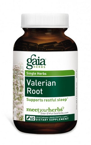 Valerian Root 60ct by GAIA Herbs